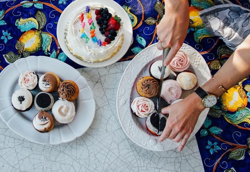 high-calorie dessert now